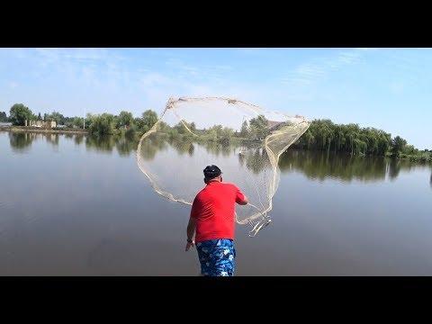 Рыбалка Кастинговой Сетью на прудовых МОНСТРОВ.Советы рыбакам