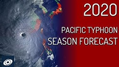2020 Pacific Typhoon Season Prediction by Force Thirteen