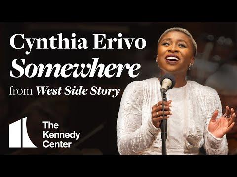 Cynthia Erivo performs