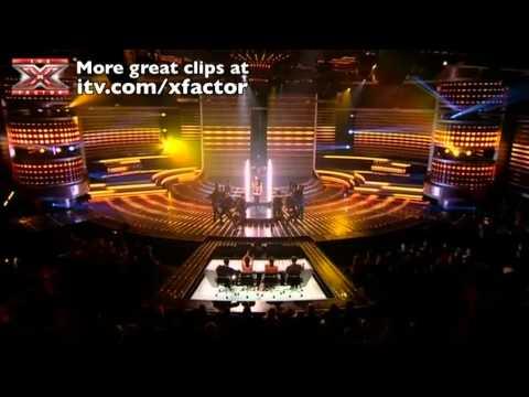 Rebecca Ferguson sings Show Me Love - The X Factor Live Semi-Final - itv.com/xfactor