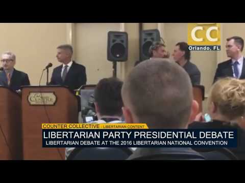 2016 Libertarian National Convention Presidential Debate (Part 2)