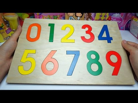 Thumbnail: Learn Numbers for Children Wood Toy 123
