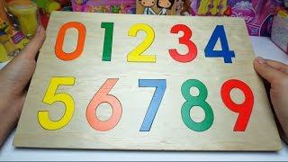 Learn Numbers for Children Wood Toy 123
