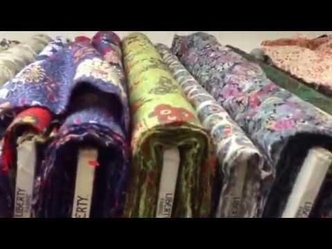 Hello. Shaukat London fabric shop . Virtual fabric tour