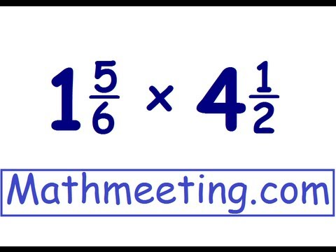 math worksheet : multiplying mixed numbers  youtube : Multiplication Of Mixed Numbers Worksheet
