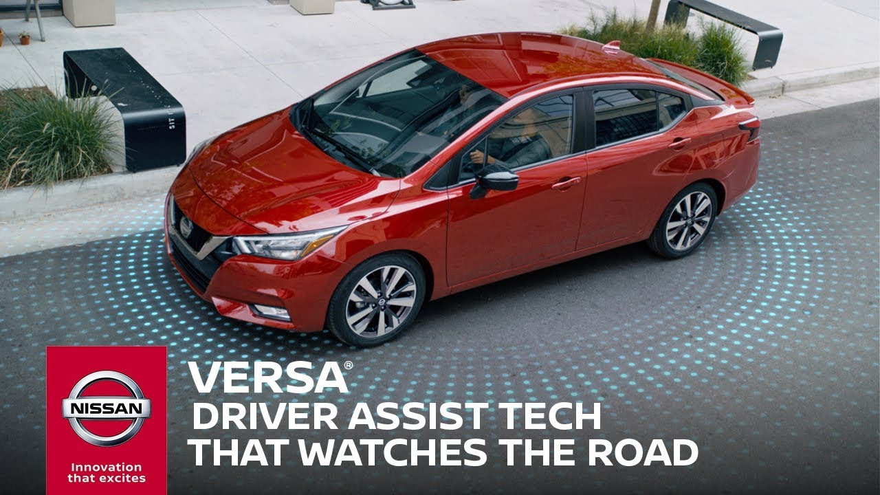 2020 Nissan Versa Safety & Drive Assist Technology