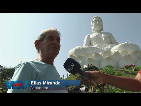 A segunda maior estátua de Buda do mundo se torna atração turística no ES