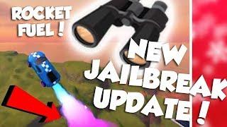 ROCKET FUEL UPDATE!!!!!! JAILBREAK ROBLOX