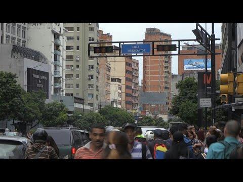 Caracas hit by power cut | AFP