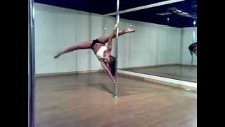 Midwest Pole Dance Competition- Allison Meine-National Elite Divison