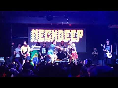 Neck Deep - Citizens Of Earth @ Fabrique Club, São Paulo - Brasil (07/04/2018)