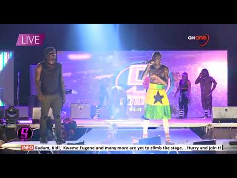 S Concert Live   Shatta Wale, Stonebwoy, Liwin, etc perform at Accra Sports Stadium