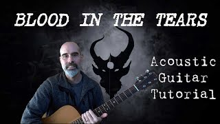 DEMON HUNTER - Blood In The Tears - Acoustic Guitar Tutorial
