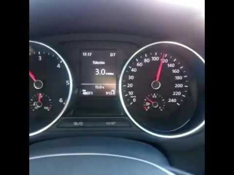vw polo 1.4 tdi dsg yakıt tüketimi - youtube