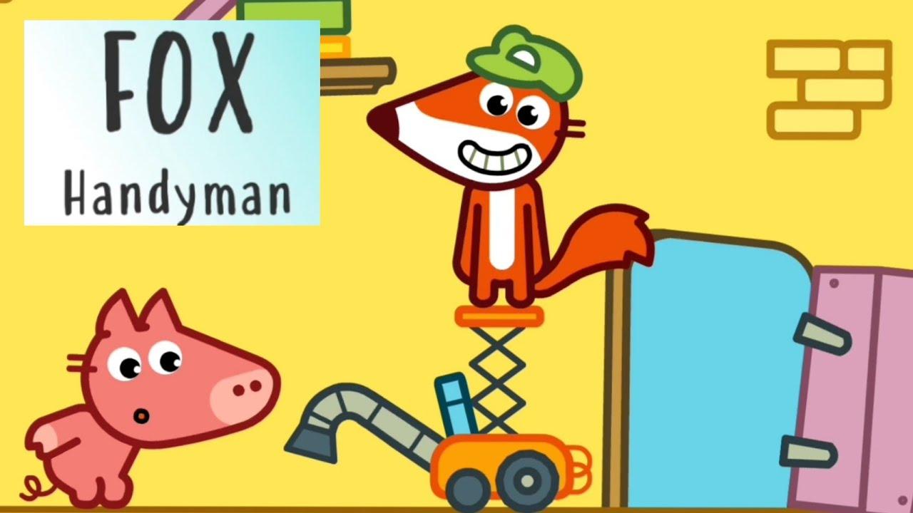 Download FOX HANDYMAN - Pango Stories for preschool kids toddlers