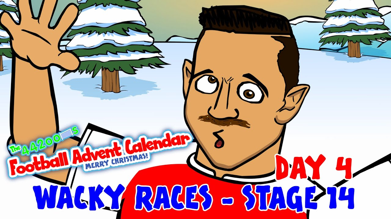Race 14 Premier League Wacky Races Day 4 Football Advent