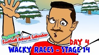 RACE 14 Premier League Wacky Races (Day 4 Football Advent Calendar)