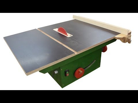 Magnificent Diy Table Saw With Trunnions