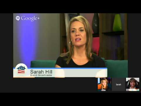 "KimLive.TV Interview with Sarah Hill,  Using Google Helpouts for ""See-Commerce"" Business"