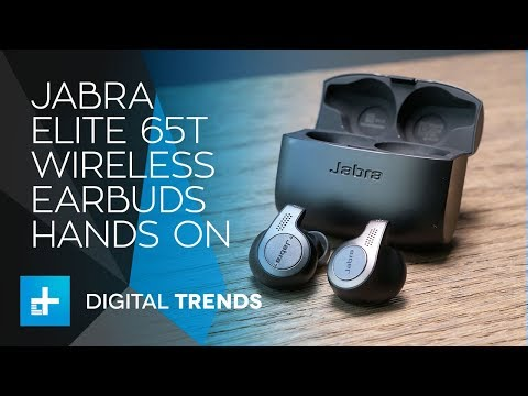 Jabra Elite 65t True Wireless Earbuds - Hands On Review