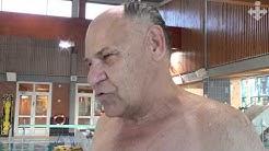 Vieremäläisiä ikäihmisiä Iisalmen uimahallissa