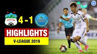 Highlights HAGL 4-1 Khánh Hòa | Minh Vương - Văn Toàn hóa rồng lập siêu phẩm rung chuyển đất Pleiku