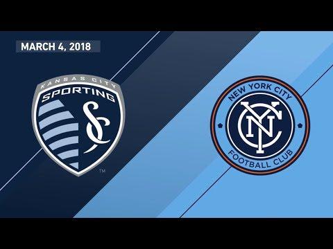 HIGHLIGHTS: Sporting Kansas City vs. New York City FC | March 4, 2018