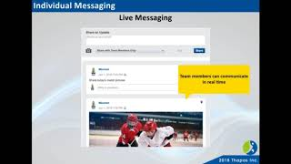 Sports Team Communication, Messaging & Chat App