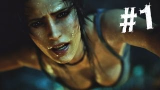 Tomb Raider Gameplay Walkthrough Part 1 - Intro (2013) thumbnail