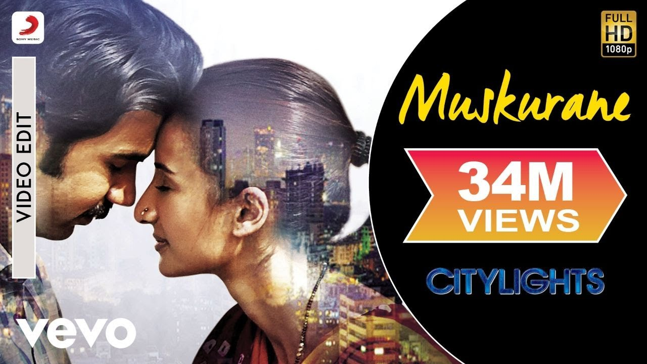 Muskurane Video - Citylights | Arijit Singh | Rajkummar Rao, Patralekha | Jeet Gannguli