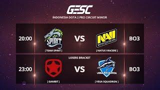 SPIRIT [Russia] vs NAVI (Ukraine) (BO3) @GESChampionship Jakarta Minor , CIS Qualifier - Day 2