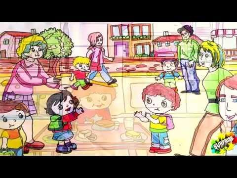 Çocuklarımıza En Güzel Hikayeler :) Yaşasın Okula Başladım...