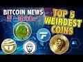 Top 5 WEIRDEST coins on Coin Market Cap - Bitcoin Mining & T-Mobile