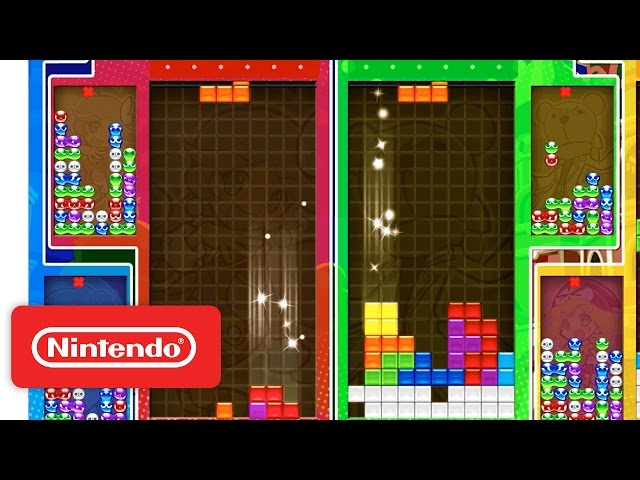 Puyo Puyo Tetris - Official Nintendo Switch Trailer