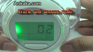 7 Color Switching/Changing Light Alarm Clock with Nature Sound | Alarm Clock Review