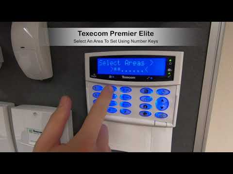 Texecom Premier Elite Arm An Area
