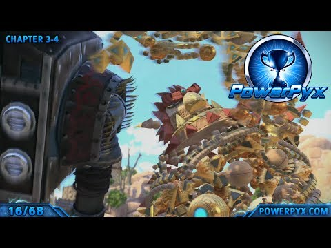 Knack - All Treasure Chest Collectible Locations (King of Adventure Trophy Guide)