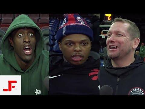 RAPTORS VS SIXERS NBA PRE GAME | KYLE LOWRY PASCAL SIAKAM & NICK NURSE | NBA SOUND | 02.05.2019