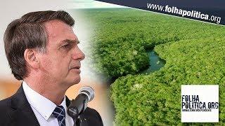 Bolsonaro diz que ONGs têm interesse nas queimadas na Amazônia e... thumbnail