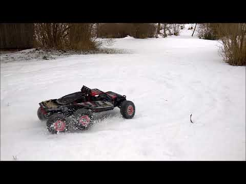Feiyue FY06 Modifications and snow bashing