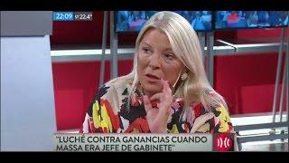 """Elisa Carrio en """"A Dos Voces"""" - 23/11/2016"""