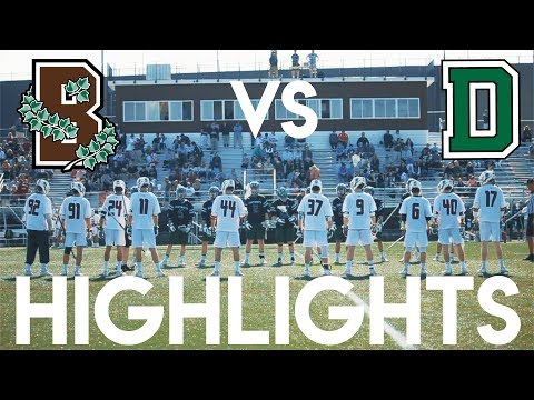 Brown Vs Dartmouth College Lacrosse Highlights || Ivy League