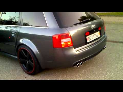 2004 audi rs6 507ps abt auspuff youtube. Black Bedroom Furniture Sets. Home Design Ideas