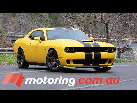 2017 Dodge Challenger Hellcat Review | motoring.com.au
