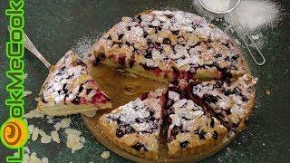 ВЕНСКИЙ ПИРОГ С ВИШНЕЙ. Простой рецепт венского пирога/VIENNA PIE WITH CHERRY. Cherry pie recipe