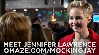 Jennifer Lawrence Doubles Your Chances To Go To The Mockingjay Premiere!