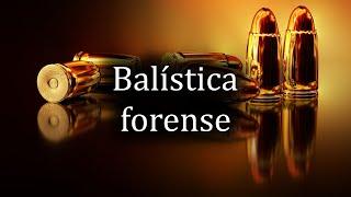 Balística Forense   Lic. Cristian Barrón