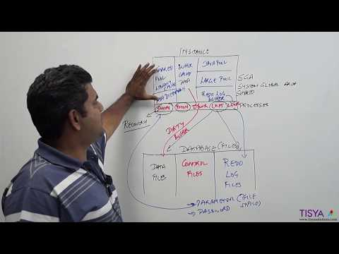 Oracle Database and Instance Components - DBArch Video 3