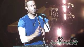 EVERGLOW - Coldplay Live in Manila 04-04-17