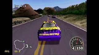 Nanotek Warrior, NASCAR Rumble - Playstation Classic Playtest